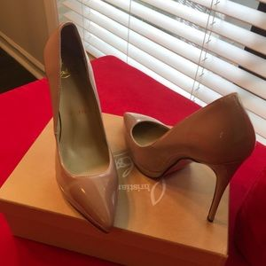 Shoes - Nude Louboutins